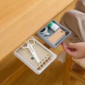Self-Adhesive Under Desk Drawe