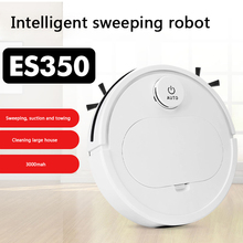Vacuum-Cleaner Sweep-Mop-Machine Robot Household Automatic ES350 3-In-1home Rechargeable
