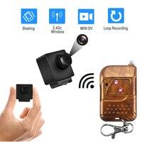 HD 1080P Mini kamera taşınabilir kayıt dijital mikro DV kaydedici uzaktan kumanda gizli güvenlik kamera Mini DVR vücut kamerası