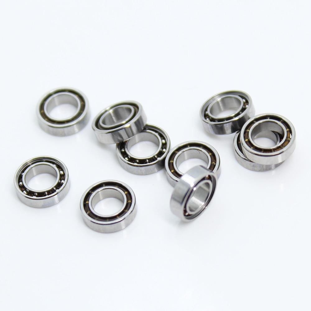 MR74 OPEN Bearing 4*7*2 Mm ( 10 PCS ) ABEC-1 Miniature High Precision MR74 OPEN Ball Bearings