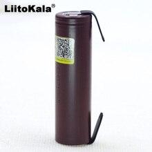 2020 Liitokala için HG2 18650 3000mAh elektronik sigara şarj edilebilir pil yüksek deşarj, 30A yüksek akım + DIY nikel