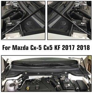 Image 5 - Araba motoru kapağı destekler çubuk ön Bonnet Hood kaldırma hidrolik çubuk dikme bahar şok Bar Mazda CX5 CX 5 2017 2018