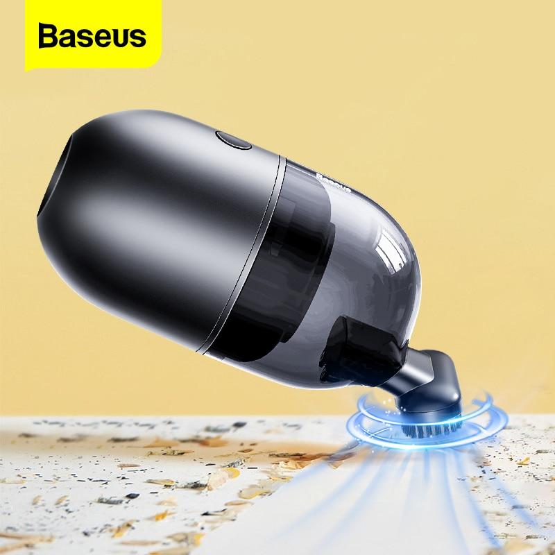 Baseus Mini Car Vacuum Cleaner Wireless Portable Handheld Auto Cleaner for Home Table Desktop Keyborad Cordless Vaccum Cleaner