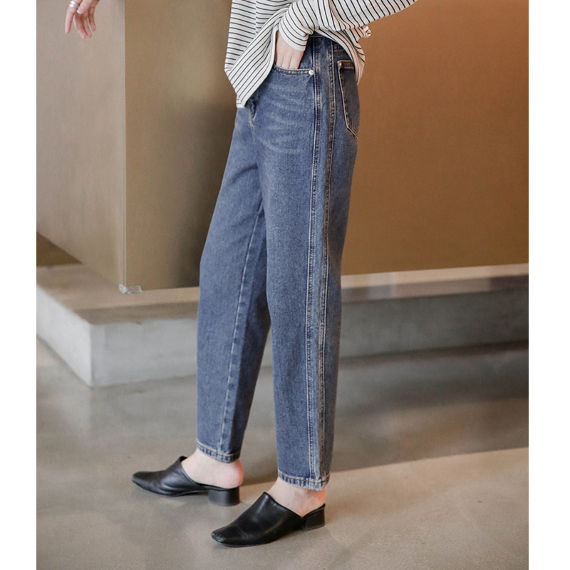 2020 pants autumn Korean straight pants retro jeans