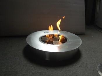 Hot Sale Bio Fuel Fire Modern Round Ventless Fireplace