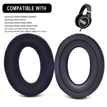 Defean Replacement Velvet Ear Pads for Sennheiser HD 599 SE HD 598 SR HD569 HD559 HD595 PC360 PXC450  Headphone