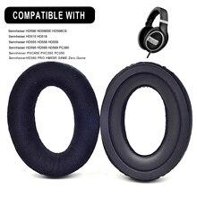قطع بطانة للأذن من المخمل لاستبدال سماعات Sennheiser HD 599 SE HD 598 SR HD569 HD559 HD595 PC360 PXC450