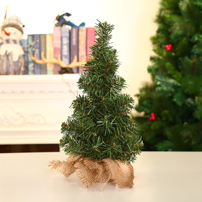 Christmas Accessories Tree 20 Cm Mini Christmas Decorative Tree Christmas Holiday Shopping Mall Decorations Desktop Accessories