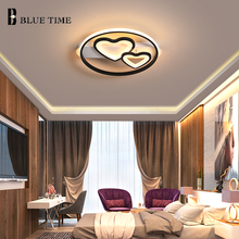 цена на Indoor Lighting Modern LED Ceiling Lights Round Ceiling Lighting for Bedroom Living Room Dining Room Flush Mount Ceiling Lamps