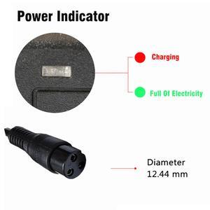Image 5 - Е байка 36В 2A высокого давления зарядное устройство для свинцово кислотных аккумуляторов, фара для электровелосипеда в электрический скутер зарядного устройства для электрического велосипеда транспортных средств