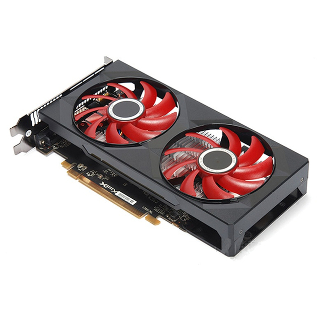 XFX Video Card RX 560 4GB 128Bit GDDR5 RX 560D Graphics Cards for AMD RX 560 series VGA Cards RX560 470 570 460  RTX 3060 Used 6