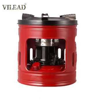 VILEAD Kerosene Camping Stove Heater 10 Wick Outdoor Cooking Coal Oil Burner for Hiking Picnic BBQ Travel Wild Camping Equipment цена 2017