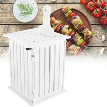 36 fori Barbecue Verdura Brochettes Non-Tossico Cibo Multi-Purpose Barbecue Kebab di Carne Maker Grill Accessori Kit di Strumenti di