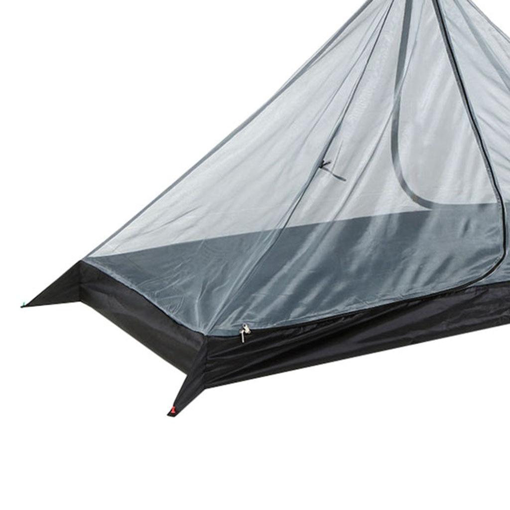 Camping Zelt Moskito Net-Rucksack Zelt-Wandern Reise Outdoor Zelt Innere Mesh für 1 Person, camping Ausrüstung Liefert