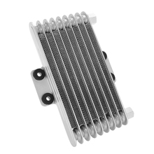 цены Motorcycle Engine Oil Cooler Aluminum Quick Cooling Engine Oil Temperature For 125CC-250CC Motorcycle ATV Auto Accessory