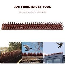 20 adet kuş kovucu sivri plastik Anti güvercin karşı tırnak kuş caydırıcı aracı çevre dostu güvercinler küçük kuşlar Catcher çit