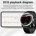 LIGE 2019 nuevo reloj inteligente N58 ECG para hombre pulsera deportiva impermeable IP67 Monitor de frecuencia cardíaca pulsera inteligente de presión arterial + caja - 3
