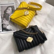 купить Luxury design Thread PU Leather crossbody Bag for Women Handbags Tote 2019 Fashion high quality Ladies Shoulder Bag female purse по цене 974.79 рублей
