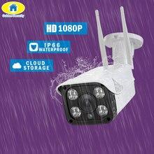 цена на Golden Security Free APP 1080P Full HD SD card Cloud Storage Motion Detection Night Vision Onvif DIY 2.0MP WiFi IP Camera