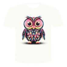 2020 Summer New 3D T-Shirt Casual Short Sleeve O-Neck Top Fashion HarajukuT-Shirt Cute little cat T-shirts