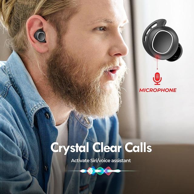 M30 Wireless Earphones TWS Bluetooth 5.0 Earphone Touch Control Earbuds With IPX8 Waterproof For iPhone Xiaomi Mi 10 Pro 4
