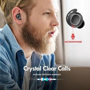 Image 4 - Mpow M30 אלחוטי אוזניות TWS Bluetooth 5.0 אוזניות מגע בקרת אוזניות עם IPX8 עמיד למים עבור iPhone Xiaomi Mi 10 פרו