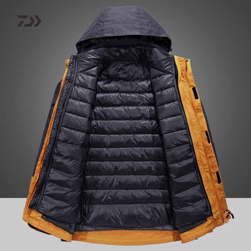 Daiwa roupas jaqueta de pesca inverno dos
