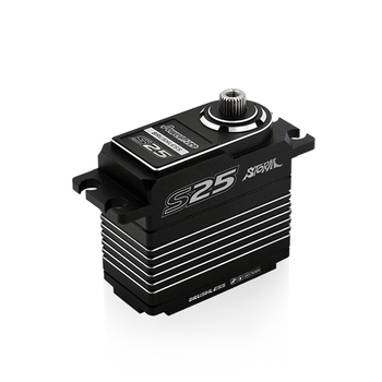 Power HD S25 HIGH VOLTAGE brushless steering gear Digital Servo for RC racing car