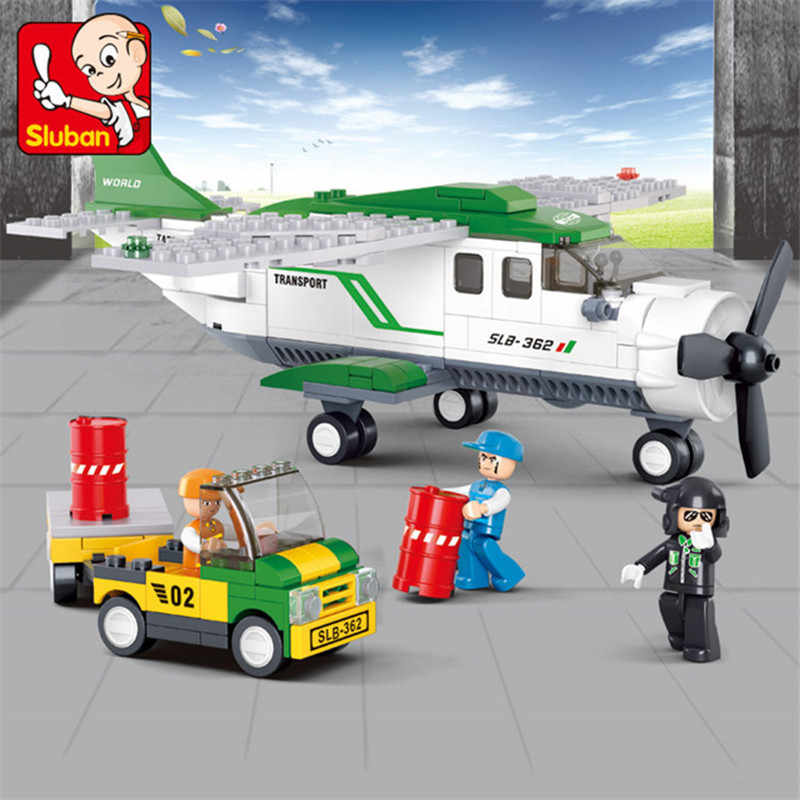 251 pièces ville sauvetage Aviation Transport aérien avion blocs de construction ensembles figurines modèles LegoINGLs Juguetes Educativos Brinquedos jouets