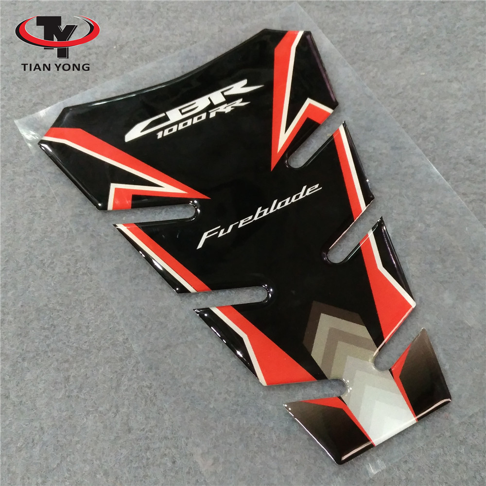 Motorcycle For Honda CBR1000RR CBR1000 RR 2004 2005 2006 2007 2008 2009 2010 2011 2012-2016 Tank Pad 3D Resin Sticker