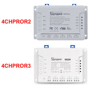 Image 2 - Sonoff 4CH Pro R2 10A /Gang 4 Kanaals Wifi Smart Switch 433 Mhz Rf Afstandsbediening Wifi Lichten Switch Ondersteunt 4 Apparaten Werkt Met Alexa