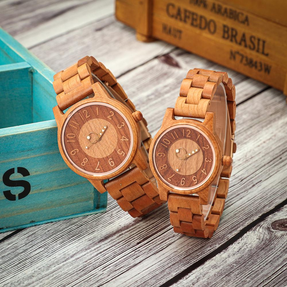 Shifenmei Couple Watches Pair Men And Women Casual Wooden Quartz Women Men's Watch Top Luxury Brand Couple Clock Reloj Hombre