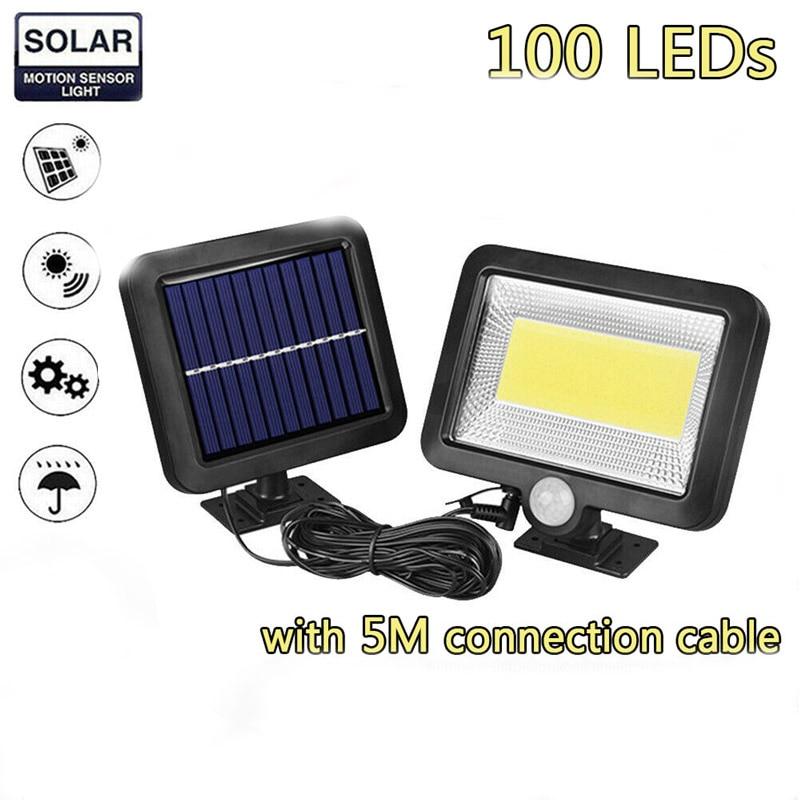 1PCS 100LED 30W Solar Lamp Motion Sensor Waterproof Home Garden Outdoor Road Night Lighting Solar Light Dropshipping