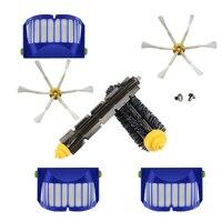 Filtro de malha principal & escova lateral para irobot roomba 600 series 605 610 615 616 620