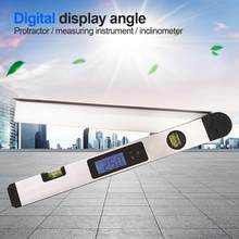 Digital Protractor Angle Finder Inclinometer Electronic Level Angle Ruler Angle Slope Test Ruler(China)