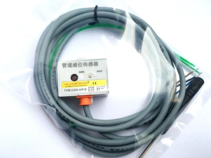 Détecteur de niveau d'eau sans contact détecteur de niveau de conduite capacitif capteur d'approche de niveau de vin CS30-AN1D capteur de proximité de niveau de liquide