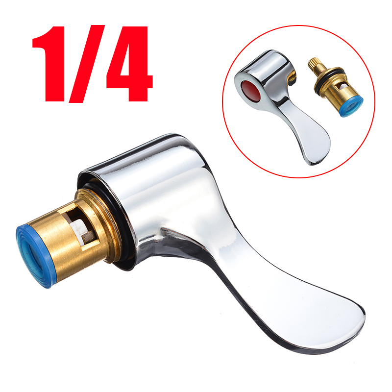 New Replacement Lever Heads 1/4 Turn Use Basin Sink Tap Reviver Faucet Handle Conversion Kit For Kitchen Faucet Accessories