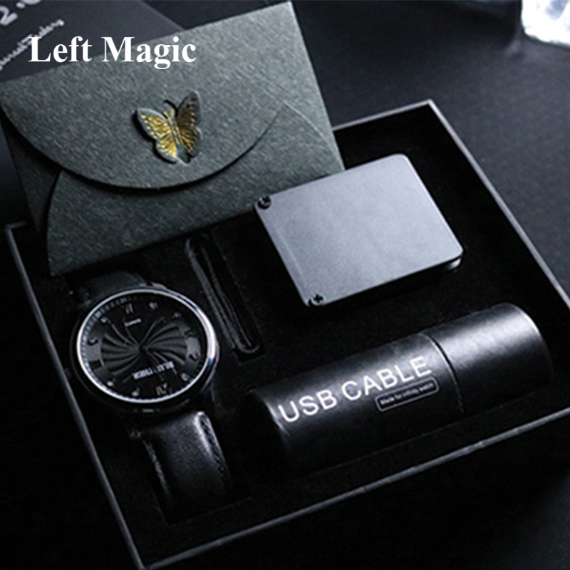 Infinity Watch V2 By Bluether  Magic Tricks Mentalism Magic Close Up Street Magic Props Fun Party Trick Illusion Gimmick