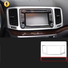 Lsrtw2017  Car Dashboard Navigation Frame Trims for Volkswagen Vw Sharan 2011 2012 2013 2014 2015 2016 2017 2018 Seat Alhambra цена в Москве и Питере