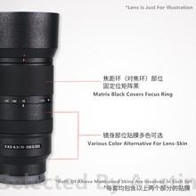 Film autocollant protecteur anti rayures, pour objectif Sony E 70 350mm f4.5 6.3 SEL70350G