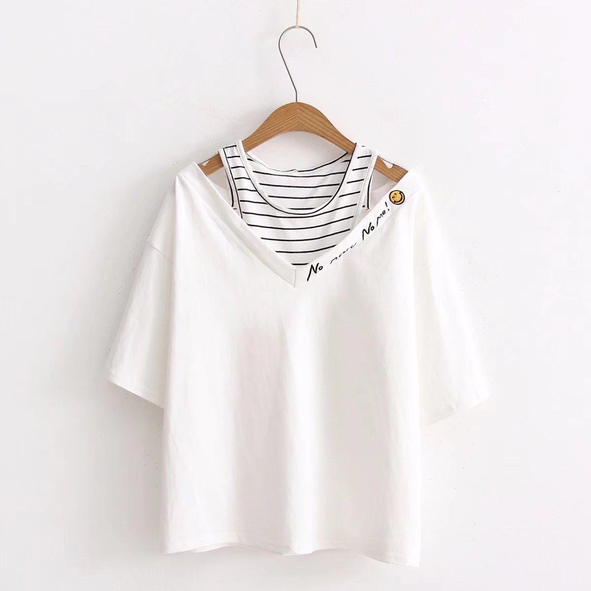 New  Fashion T Shirt Women Funny T-shirts Print Summer  Women 2020 Clothing