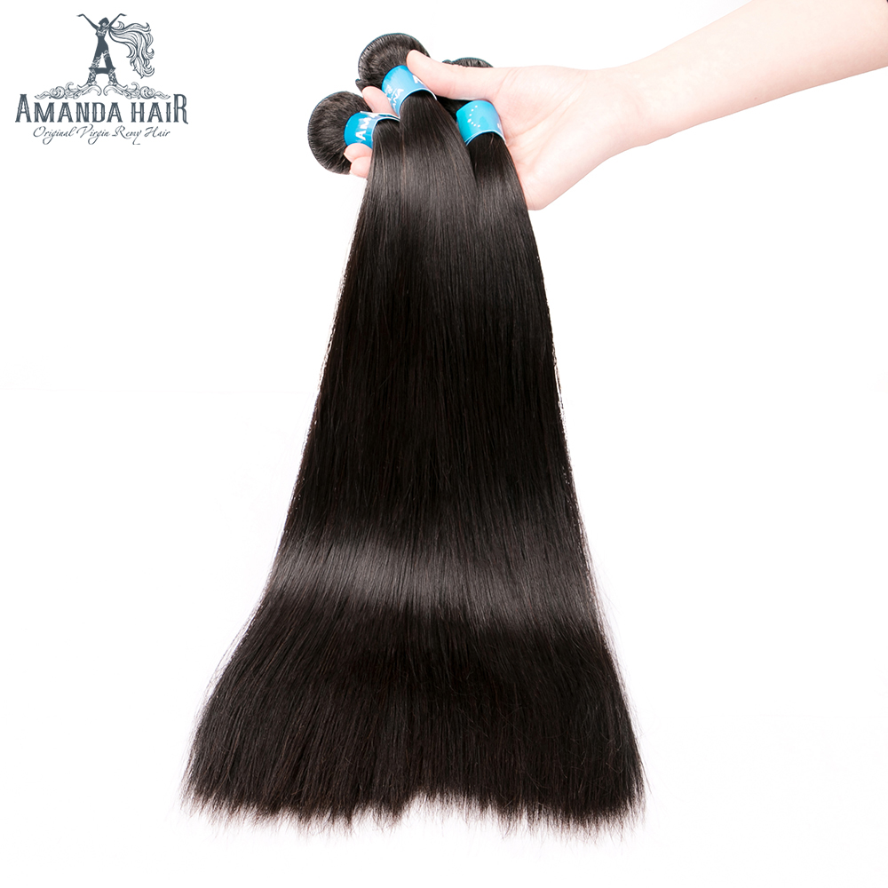 m relação virgem cabelo humano tecelagem 4 pacotes