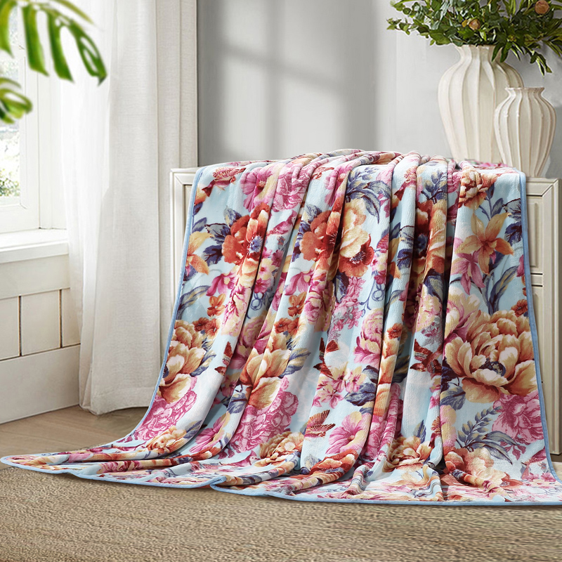 Bedding Flannel Blanket Summer Towel Blanket Thin Air Conditioning Sofa Nap Coral Fleece Bed Sheet