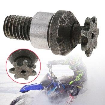 Caja de cambios de tambor de embrague de 7 dientes, Piñón de cadena de piñón delantero para bicicleta de bolsillo de 2 tiempos, 47CC, 49CC, Mini Moto, ATV, Quad, 1 Uds.