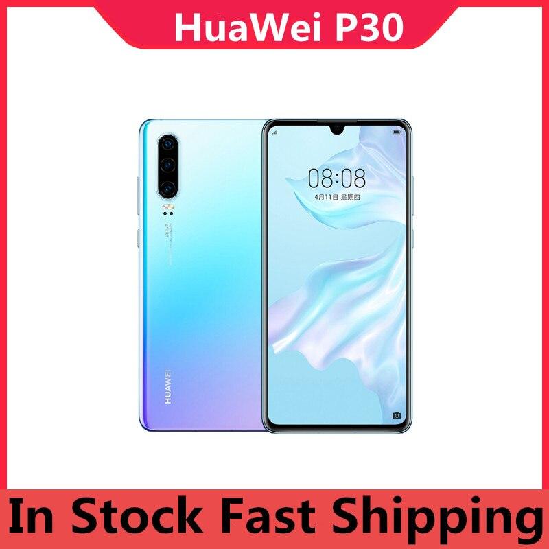 Международная версия HuaWei P30 ELE-L29 мобильный телефон Kirin 980 Android 9,1 6,1