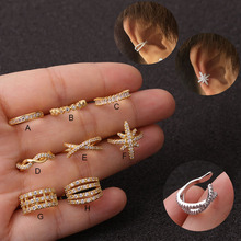 Sellsets 1pc Adjustable Cz Ear Cuff No Piercing Conch