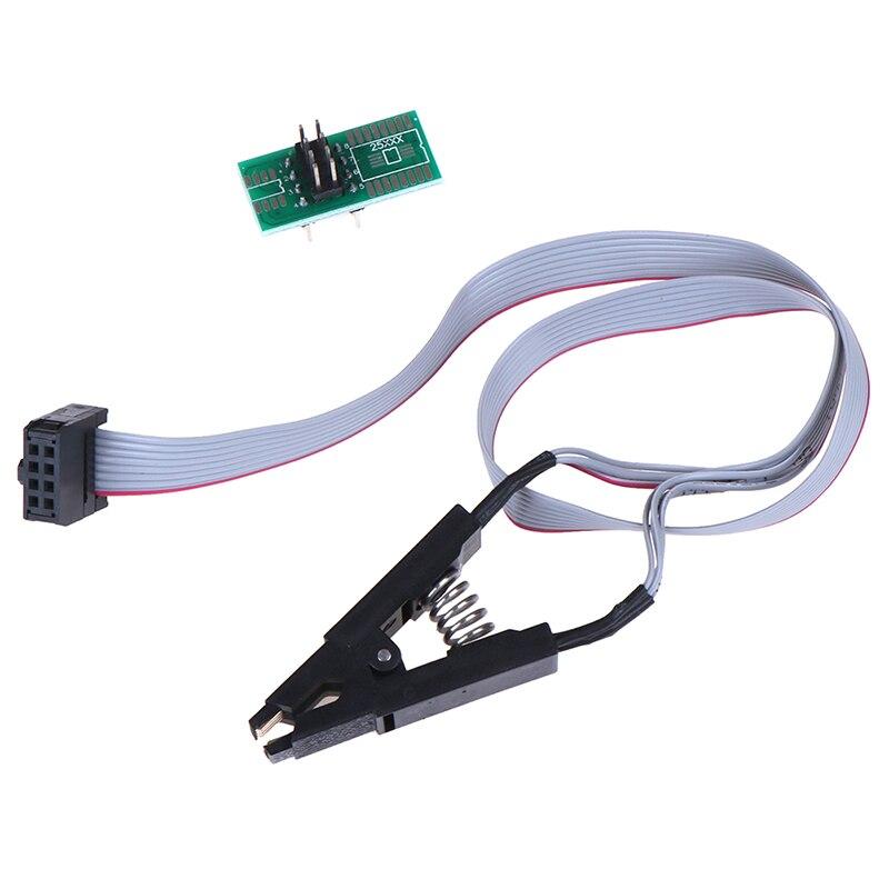 Soic8 Sop8 флэш-памяти зажим для проверки ИС доска adpter bios/24/25/93 программист ocket поддержка