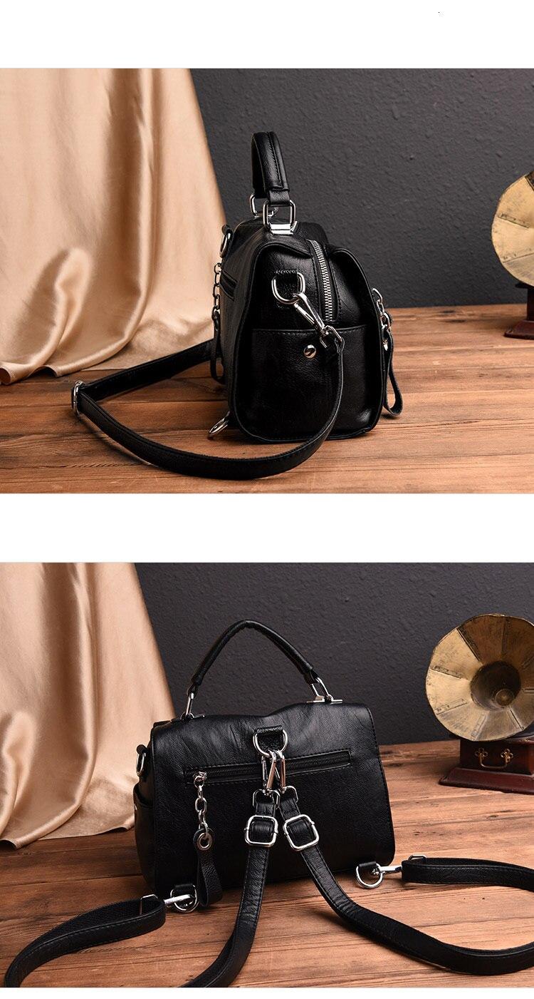 Moda bolsas de couro genuíno bolsas femininas