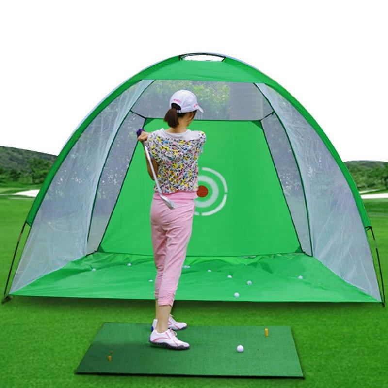 Вътрешна 2 м голф тренировъчна мрежа - Голф - Снимка 3