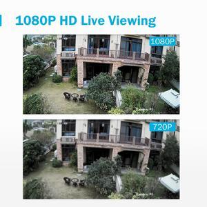 Image 5 - ANNKE système de vidéosurveillance 4CH 1080P Lite, Kit DVR 1080P, 4 pièces, caméras de sécurité dextérieur, 2.0mp, système de vidéosurveillance nocturne infrarouge